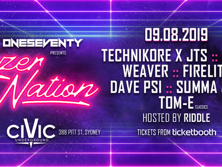 OneSeventy: Lazer Nation [09.08.2019]