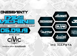 OneSeventy: Rave Machine [06.09.19]