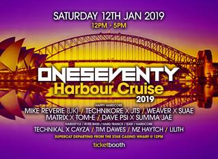 OneSeventy: Harbour Cruise 2019