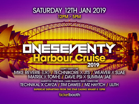 OneSeventy: Harbour Cruise 2019