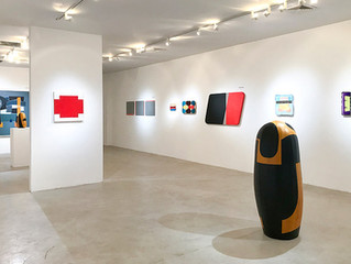 February 2018: New Geometry II, Fred Giampietro Gallery, New Haven, CT