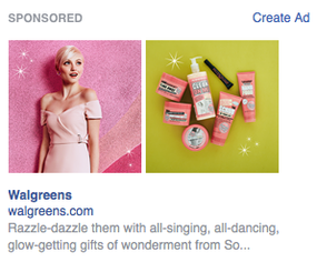 Soap & Glory for Walgreen's