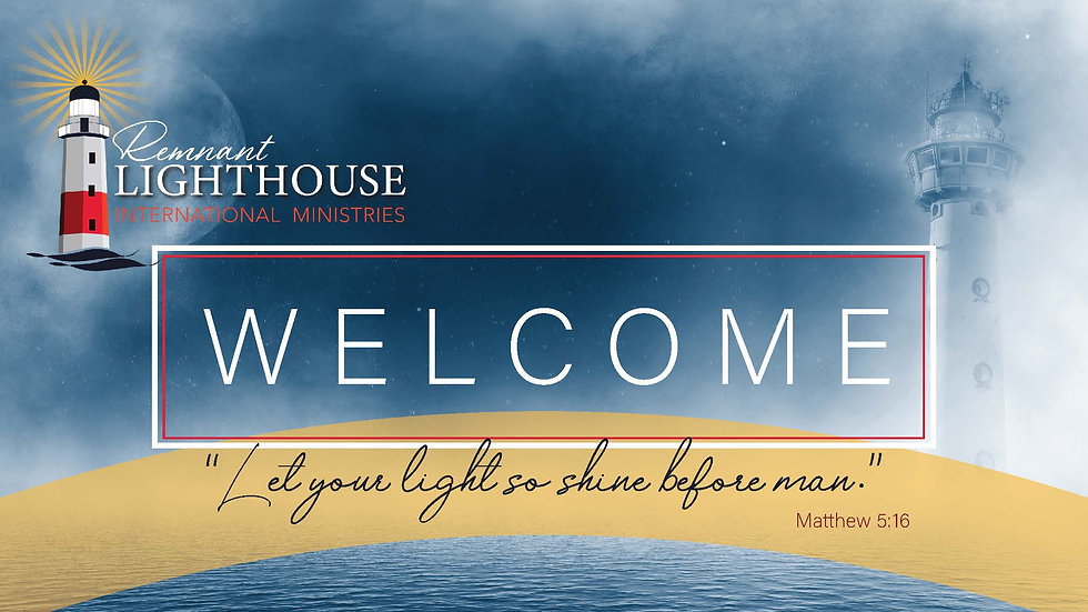 Remnant Lighthouse Ministries Cover Phot