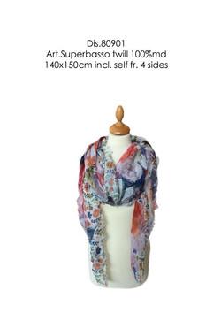 scarf floral