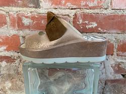 brown sandals high