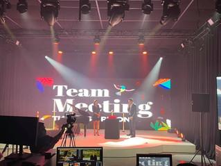 Thomas & Piron réalise son premier Team Meeting virtuel avec Audioplus !
