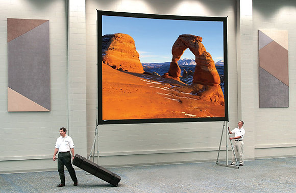 Ecran géant Fast-Fold de 6.2/4.7m