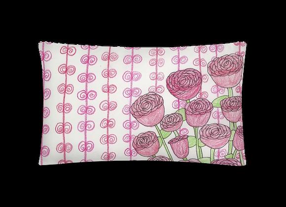 """Roses"" Pillow"