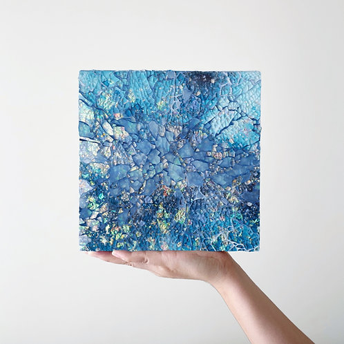 Starry Sky Blue Square (Made-to-order)