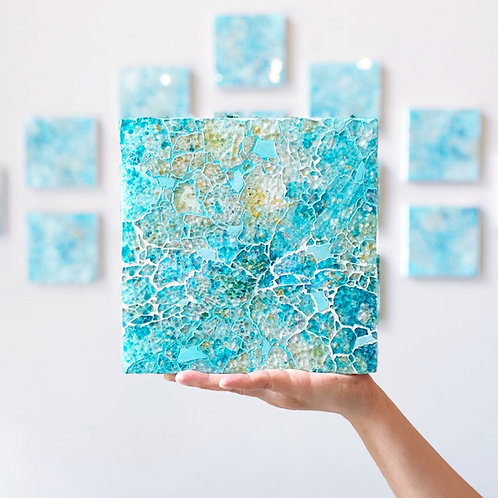 Ocean Blue Square (Made-to-order)
