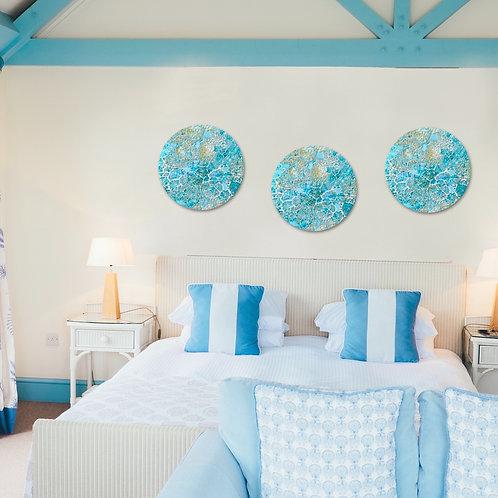 Ocean Blue Circular (Made-to-order)