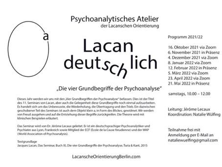 Psychoanalytisches Atelier