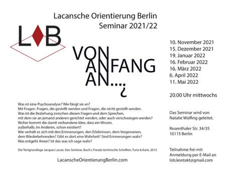 LOB Seminar 2021/2022