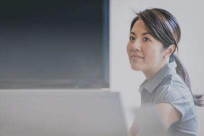 Femme d'affaires asiatique