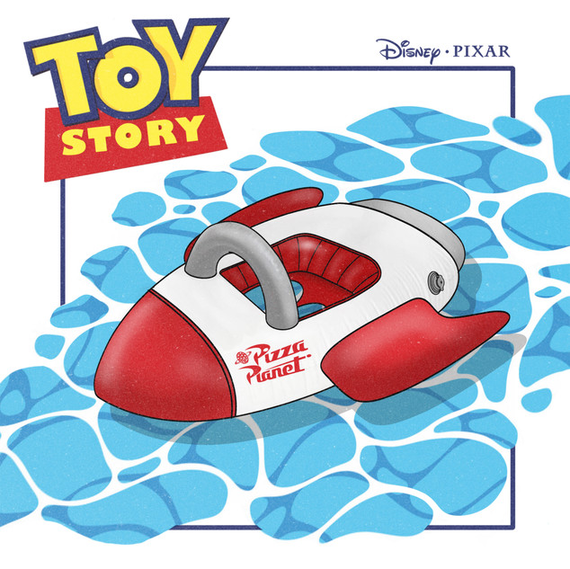 Disney children float