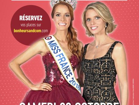 Organisation de Miss Franche Comté 2018 qualificative pour Miss France (Comité TF1)