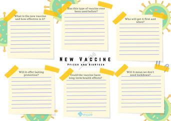 New Vaccine Research Worksheet