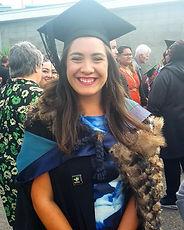 Vanessa Immink at Graduation