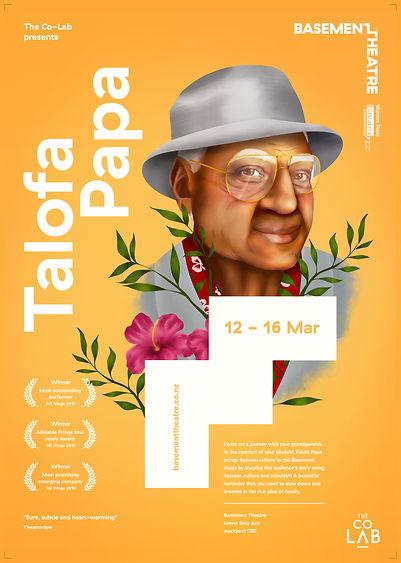 Talofa Papa Basement Theatre poster