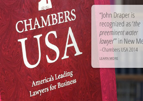 "Chambers & Partners Awards John Draper Its Top ""Senior Statesperson"" Ranking"