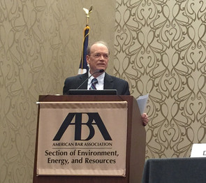 John Draper Chairs Panel on Transboundary Groundwater at ABA Water Law Conference