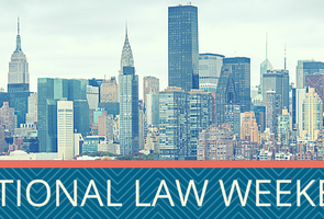 Matthew Draper to Speak on Water Disputes at 2017 International Law Weekend in New York City