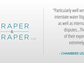 Chambers Ranks Draper & Draper's Natural Resources and Water  Practice