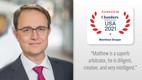 Chambers Ranks Matthew Draper A Top U.S. International Arbitrator