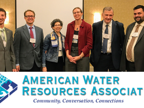 Matthew Draper Presents on Transboundary Water Governance at AWRA Annual Meeting