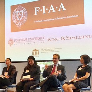 Matthew Draper Addresses Efficiency in International Arbitration at Fordham University