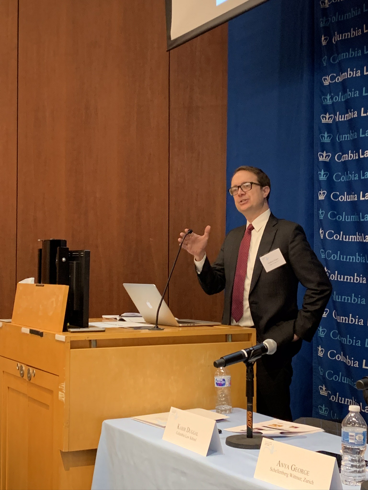 Matthew Draper Presents on Climate Change Arbitration at Columbia Law School