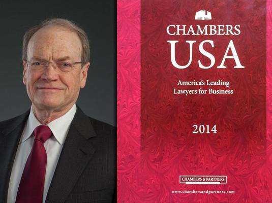 "John Draper Awarded ""Star"" Ranking in Chambers USA"