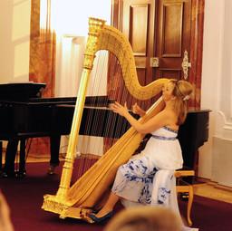 Jana Boušková at the Břevnov Monastery Music Festival, 2016
