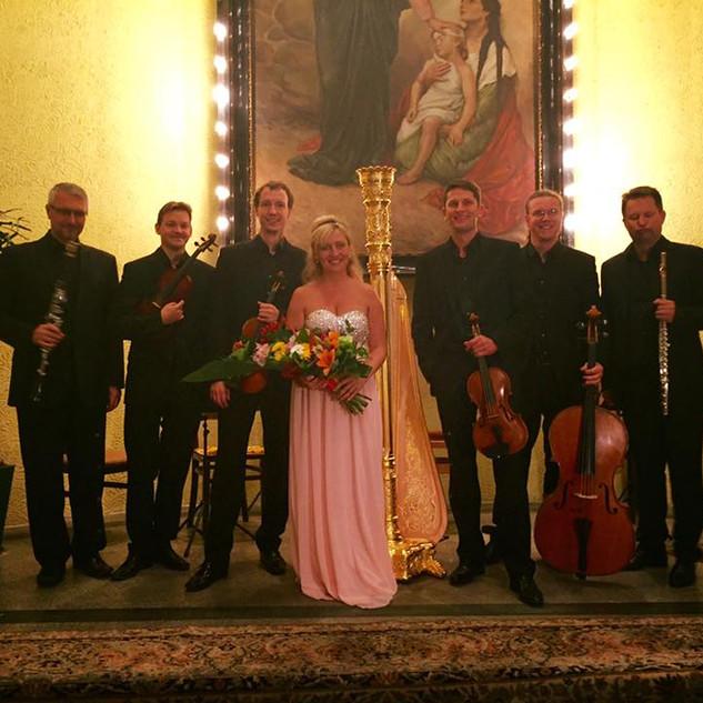 Jana Boušková, Igor Františá' k, Jan Ostrý and Bennewitz Quartet, St. Wenceslas Music Festival 2017
