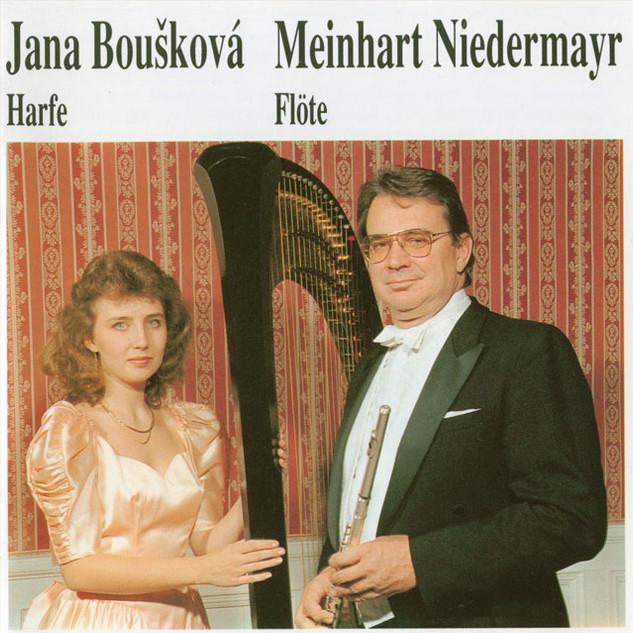 Flöte und Harfe