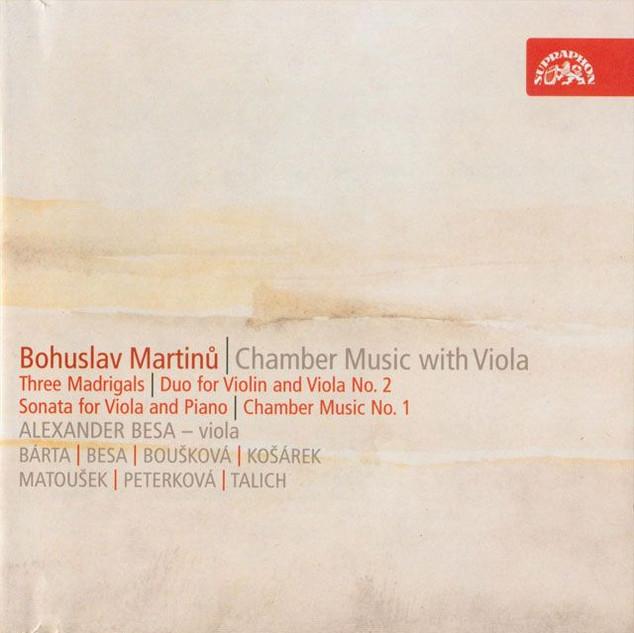 Bohuslav Martinů Chamber Music with Viola