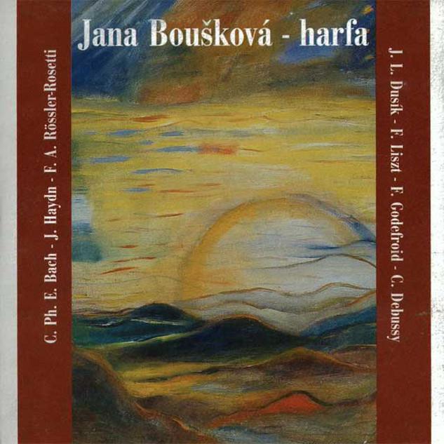 Jana Boušková - harfa