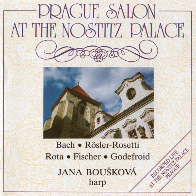 Prague Salon at the Nostitz Palace (Harp Recital)