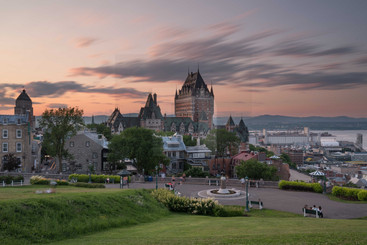 Le Chateau Frontenac Sunset II