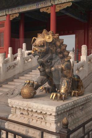 Forbidden City Guardian Lion