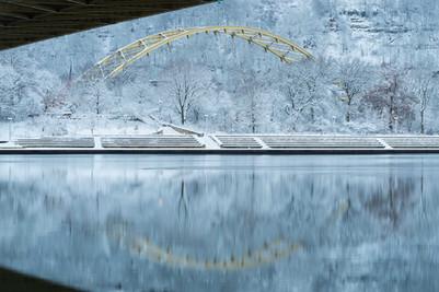 Fort Pitt Winter Arch