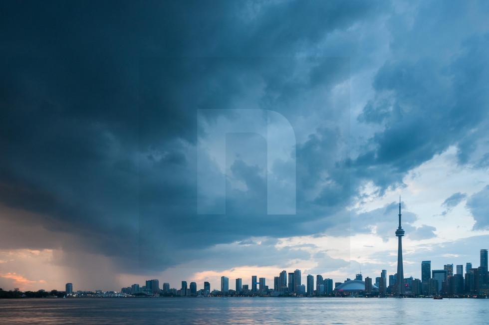 Inner Harbour Storm