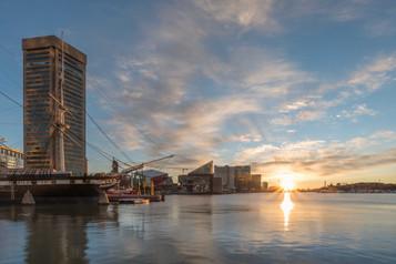 Inner Harbor Sunrise I