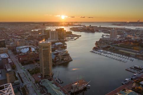 Inner Harbor Sunrise III