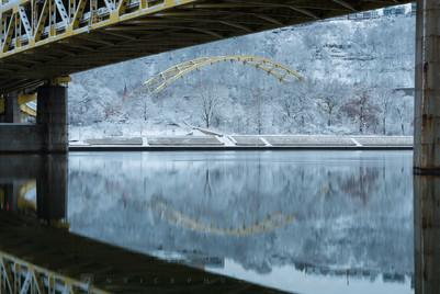 Fort Pitt Winter Arch II