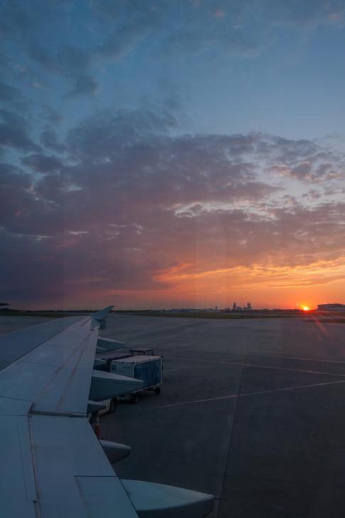 Charlotte Airport Sunrise I
