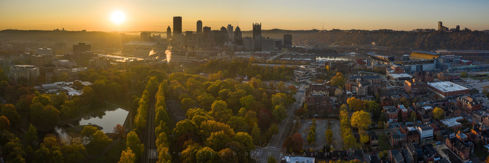 Allegheny Commons Park Pano