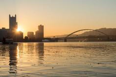 Downtown Sunrise VII