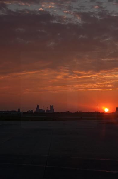 Charlotte Airport Sunrise II