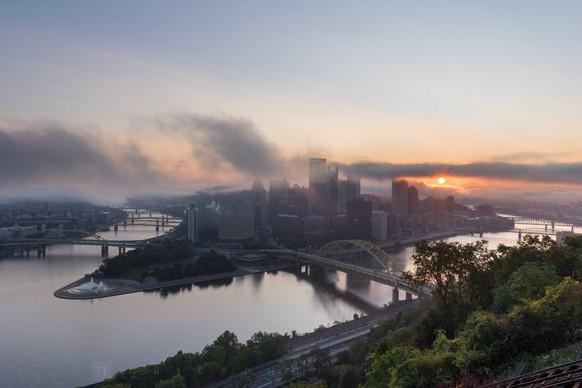 Foggy Sunrise VI